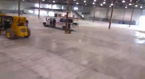 Data Center Build Time Lapse Video #1
