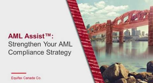 Webcast  Strengthen Your AML Compliance Strategy
