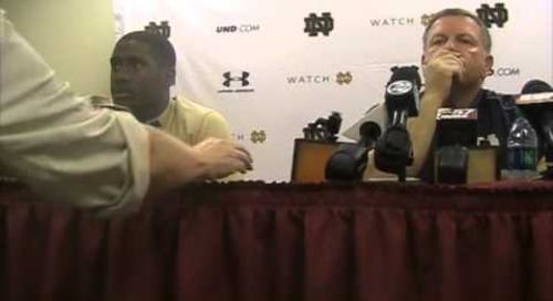 Everett Golson Post-FSU Press Conference