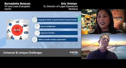 BeiGene and Icertis Fireside Chat: Contracting without Borders