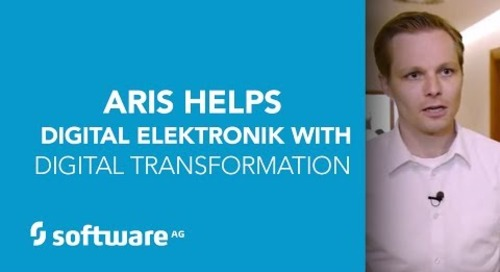 ARIS Helps Digital Elektronik with Digital Transformation