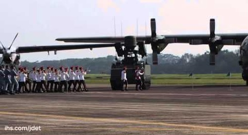 The Republic of Singapore Air Force Change of Command Parade  (short version)