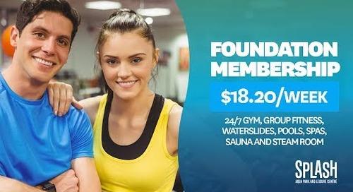 Splash Aqua Park and Leisure Centre: Foundation Membership