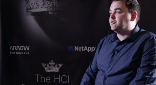 Issues in the Healthcare & Government sector and deployment value of NetApp HCI