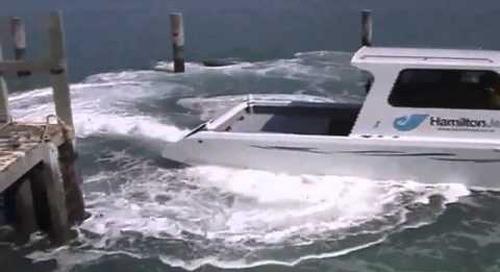 Hamilton Jet Manouvering  Docking Controls Demonstration