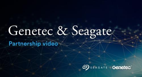 Genetec & Seagate partnership video