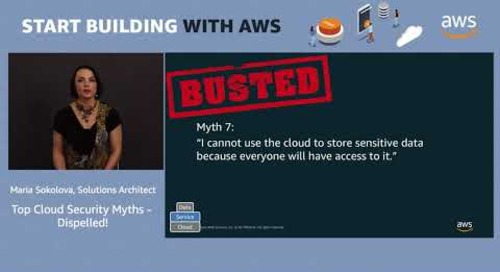 Top Cloud Security Myths Dispelled