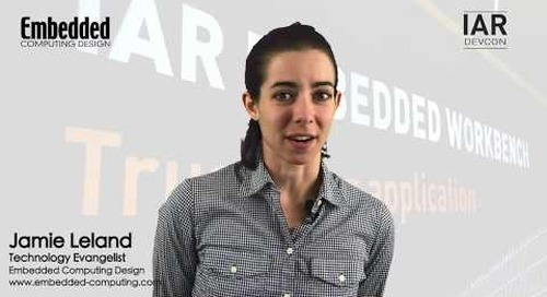 The IAR DevCon Series:  Get the most out of your embedded development tools