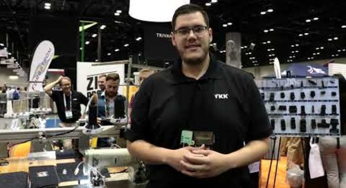 Steven Avendano introduces YKK's Field Technology Center