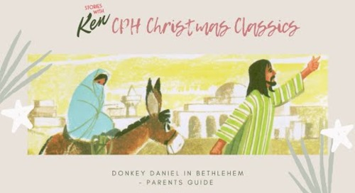 Parents Guide for Donkey Daniel | Children's Christmas Bible Story Book