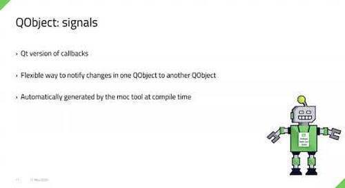 C++ to QML Animations {Qt Virtual Tech Con 2020}