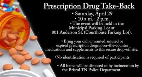 Bristol TN Prescription Drug Take-Back