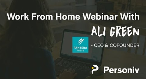 Top Work From Home Tips From Ali Green - [Webinar]