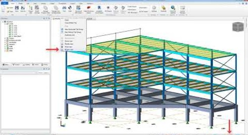 Tekla Structural Designer Excluding Members from BIM Integration