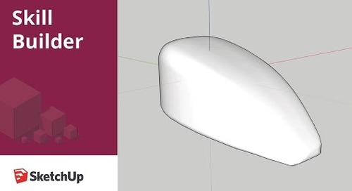 [Skill Builder] How to create organic shapes with native tools in SketchUp