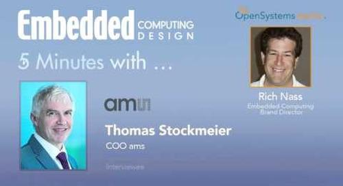 Five Minutes With… Thomas Stockmeier, COO ams
