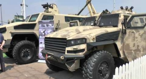 AAD 2016: LM14 Armoured personnel carrier (APC) show debut