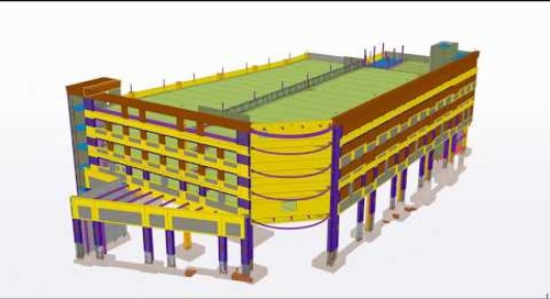 One Theatre Square Parking Garage - 2018 Tekla North American BIM Awards