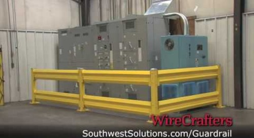 Industrial Guardrails to Protect Machinery & Employees from Forklift Accidents