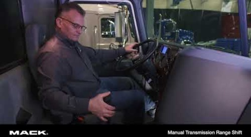 Manual Transmission Range Shift - French