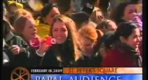 St. Anthony's Choral Group | Papal Audience Mention in the News