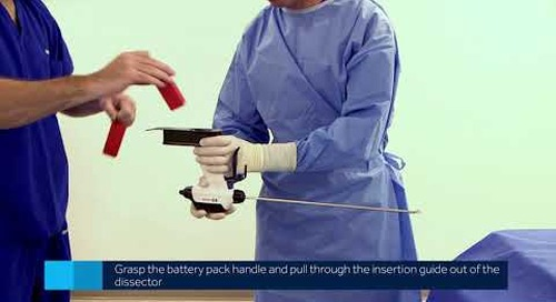 Sonicision Curved Jaw Cordless Ultrasonic Dissection System - In-Service Video 1 of 7