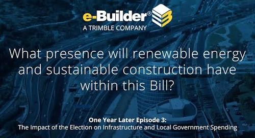 What presence will renewable energy and sustainable construction have within this Bill?