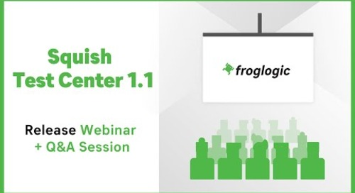What's New in Test Center 1.1 ? | Release Webinar | Squish Test Center
