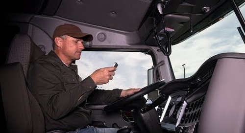 Avoiding distracted truck driving