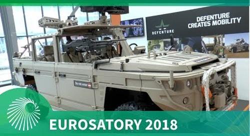 Eurosatory 2018: Defenture BV's Special Operations GRF 5.12 vehicle