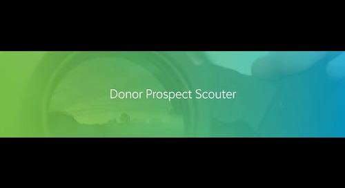 Donor Prospect Scouter Sneak Peek