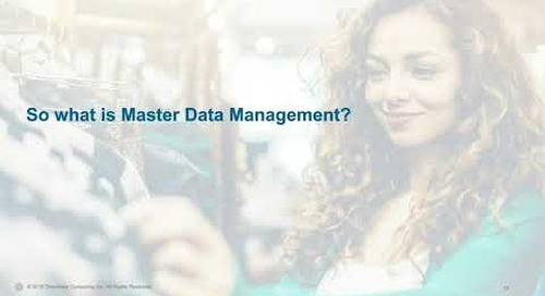 Real Talk in Retail:  Master Data Management – The Heart of Big Data & Digital Transformations