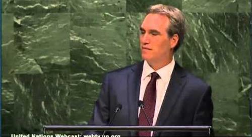 Dov Seidman at UN Global Compact