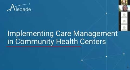 Care Management Strategies for Community Health Centers
