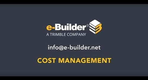 Standardize Cost Tracking
