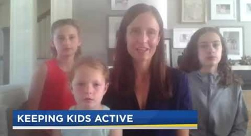 KPTV Health Watch 8/27/20 news story Helping Kids Stay Active – Stacey Cochran