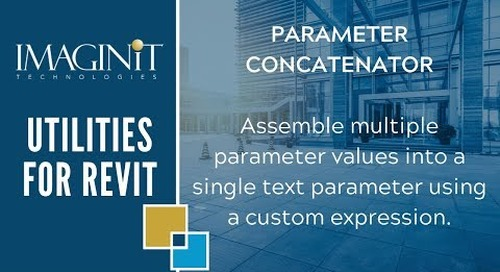 Utilities for Revit: Parameter Concatenator