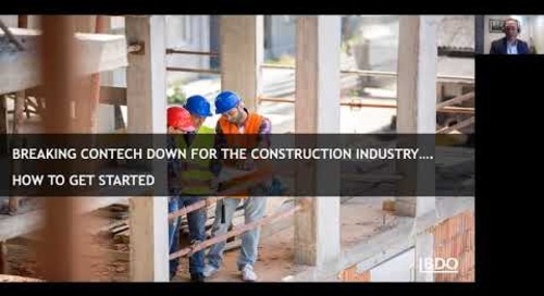 Enabling innovation through construction technology| BDO Canada