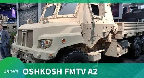 AUSA 2018: Oshkosh FMTV A2 variant and HET update