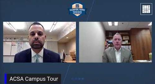 ACSA Campus Tour: Chris Hoffman