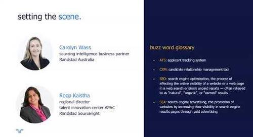 talent navigator webinar: Google for jobs.