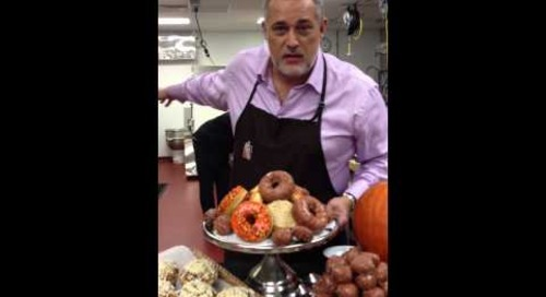 Behind the Scenes of C-Suite - Dunkin' Donuts Secret Test Kitchen