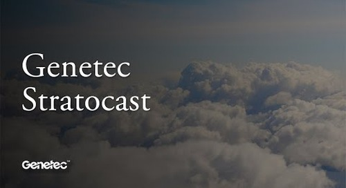 Stratocast:  Cloud-based video monitoring system