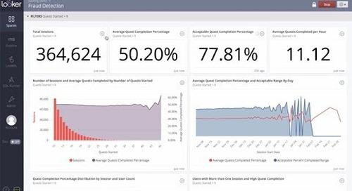 Gaming Analytics: Using Looker + Google