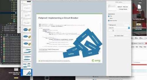 Webinar: Using Reactor for Asynch/non-blocking Microservices