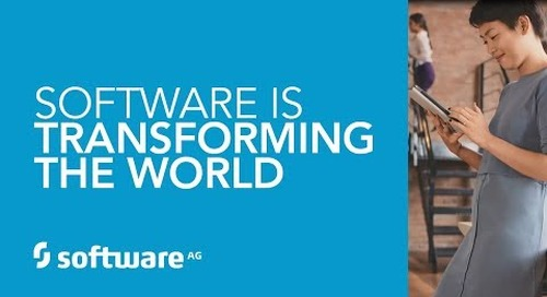 SOFTWARE IS TRANSFORMING THE WORLD