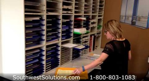 Mail Sorters Mailroom Furniture Tables Sorting Trays Shelves