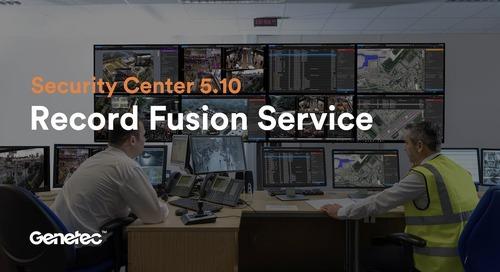 Feature spotlight: Record Fusion Service