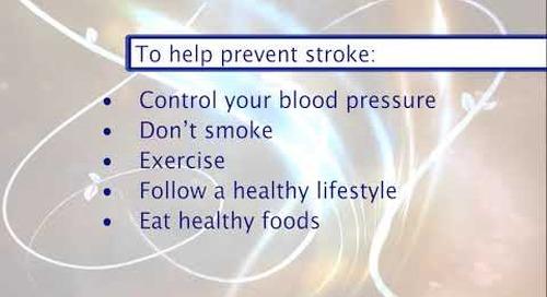 Providence Wellness Watch KGW May 2019 30 Stroke Prevention Dr. Lowenkopf