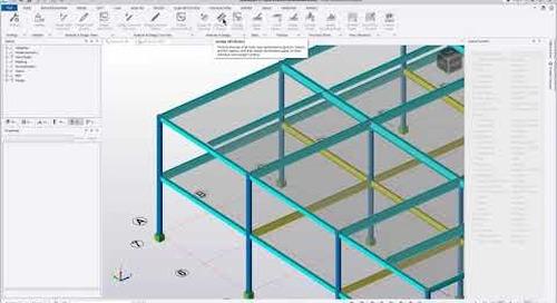 Easy modeling of Peikko DELTABEAM®